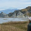 Southern end of Kaikoura Peninsula Walkway