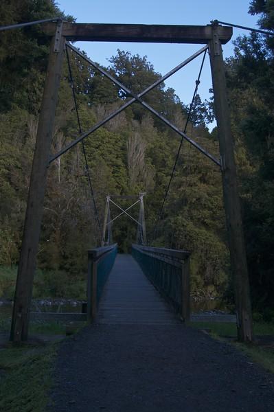 Lake Matheson Bridge