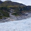 Glacier waterfalls