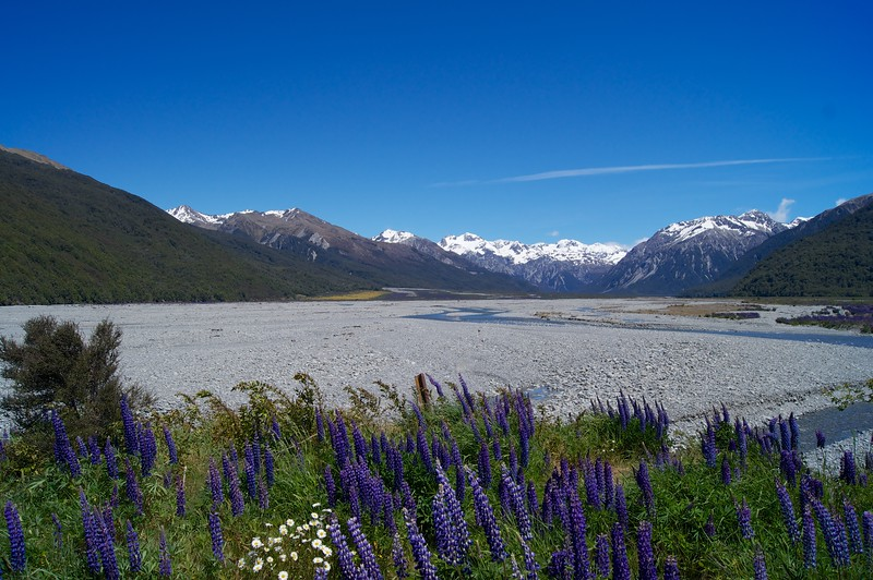 Arthur's Pass NP East Entrance