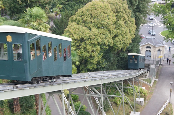 Tram on journey