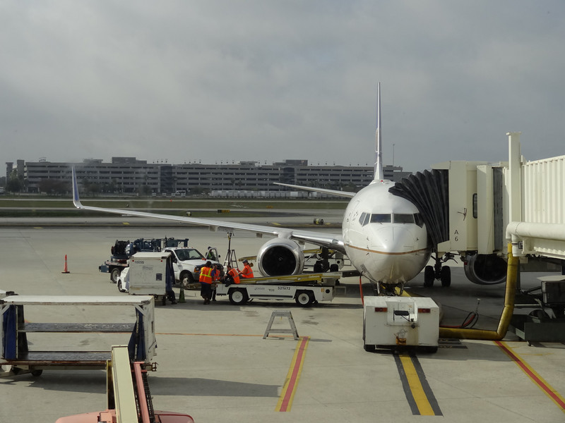 At Tampa Bay Airport