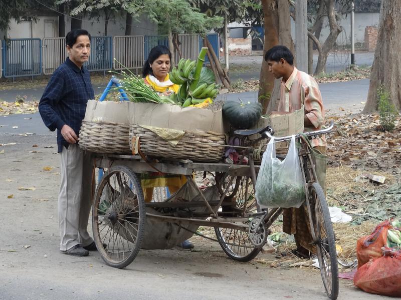Street vendor - en route to Central Park