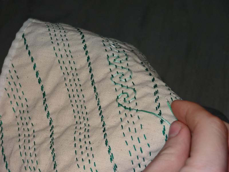 Stitching workshop