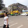 Kolkata intersection - Can you hear the horns?