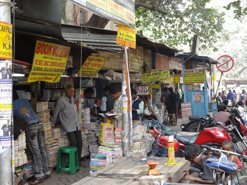 College Street book merchants