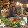 Vegetables at local produce market