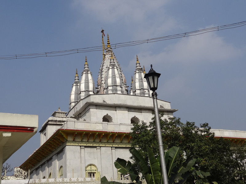 Roof line of Parasnath Jain Temple