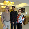 Dwaine, Jamil, Vadis in Summit Hotel Lobby