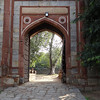 Gate to Mausuleum for Humayun