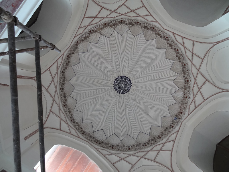 Ceiling in Humayun Mauseleum