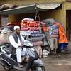 Old Delhi market street