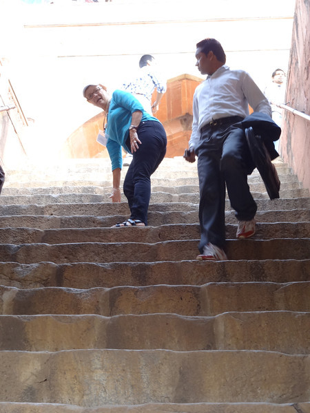 Steps to Humayun's tomb