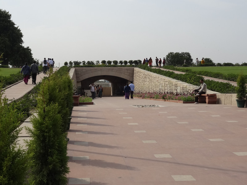 Walkway to Gandi Memorial
