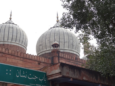 View of Jama Masjid from street