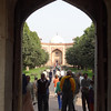 Entrance to Humayun's tomb