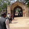 Gate to Qutb Minar complex