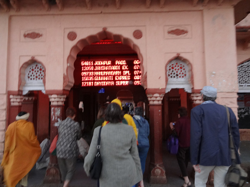 Railway station at Ranthambhore