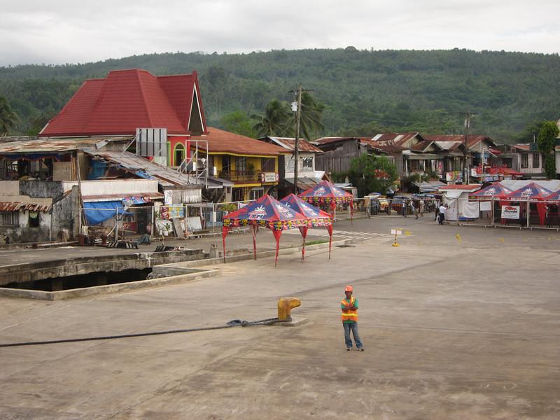 Balingoan from the ferry