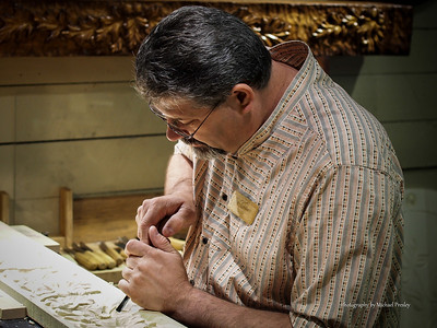 Steve Smith, Ozard Mtn. Wood Carver - Silver Dollar City