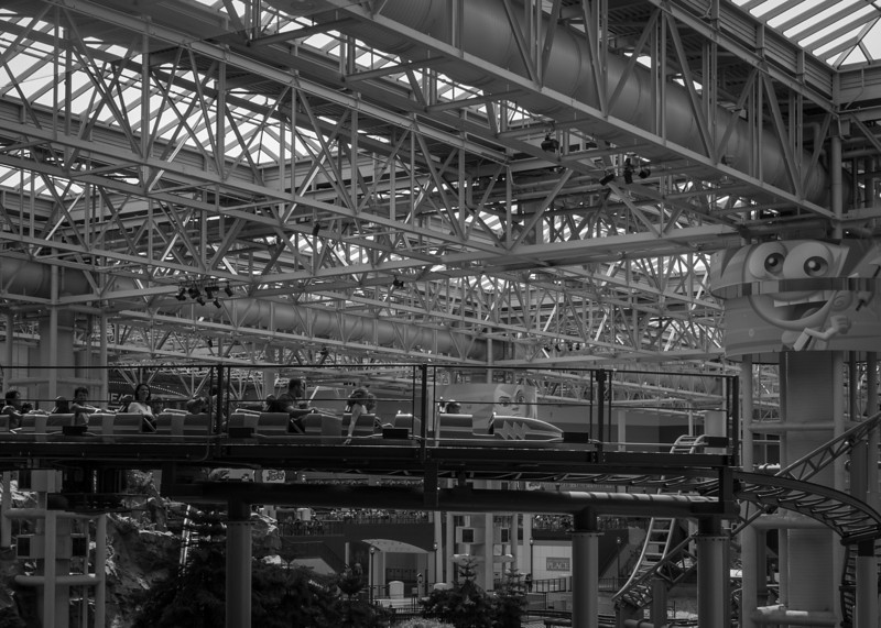 Some shots of the ride area in the Mall of America.