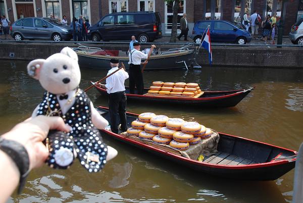 Amsterdam, pre-cruise