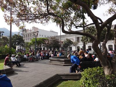 Plaza Grande - Location of Carondelet Palace: http://en.wikipedia.org/wiki/Carondelet_Palace