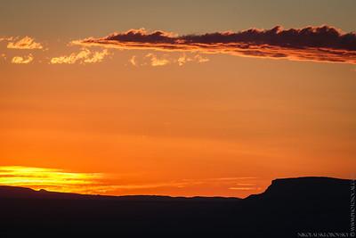Sunset at Kaibab