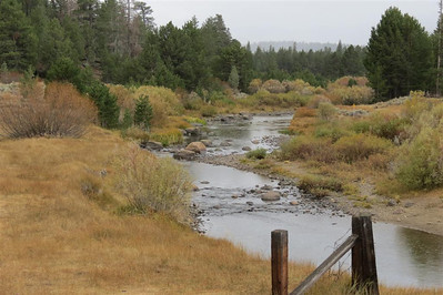 West Fork Carson River along SR88 Near Hope Valley in California