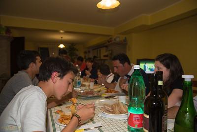 Dinner at Sandra & Sandro's house