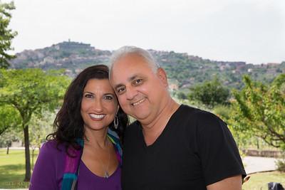 My wife Marki and I