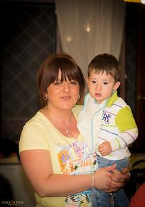 Eleonora and son Valerio
