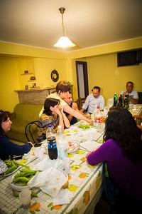 Plenty of good food and wine