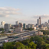 Panorama of Atlanta from the Ogilvy and Mather suite on the 21st floor of 271 17th Street NW