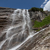 Waterfall on Grossglockner Hochalpenstrasse