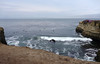 Santa Cruz surfing.