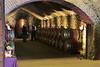 Original limestone cellars underground.