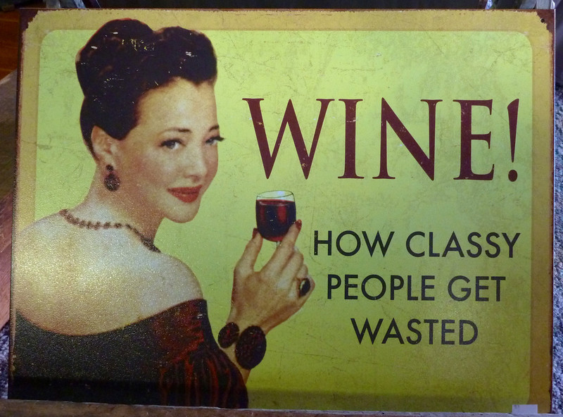 Let's be classy people & do some winery tours.