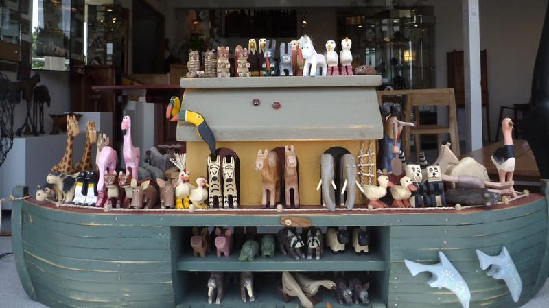Noah's Ark toy set.