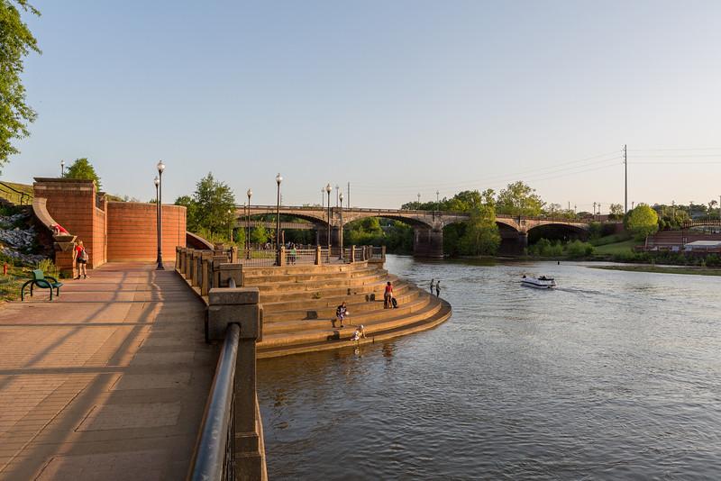 The Riverwalk in Columbus Georgia