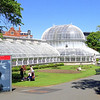 In the Botanical Garden,  Palm House - a superb structure of cast iron and curved glass panels built even before Kew Gardens opened in London in 1839.