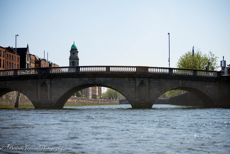 "Father Mathew Bridge is understood to be near the ancient ""Ford of the Hurdles"" (Baile Átha Cliath), the original crossing point on the River Liffey."