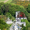 "The Laxey Wheel is the largest working waterwheel in the world. It was built in 1854 to pump water from the mineshafts and named ""Lady Isabella"" after the wife of Lieutenant Governor Charles Hope who was the island's governor at that time."