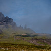 Old Man of Storr - we weren't sure the sun would come out, but it did - just in time.