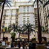 "Hotel's very famous ""Winter Garden"""