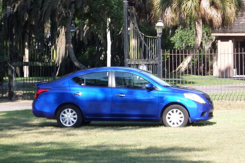 Rental Car - Nissan Versa