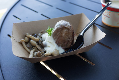 """Canada: """"Le Cellier"""" Wild Mushroom Beef Filet Mignon with Truffle Butter Sauce - ****"""