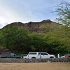 'Backside' of Diamond Head Crater