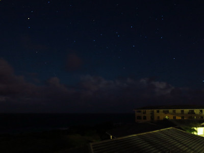 stars above the Point at Poipu