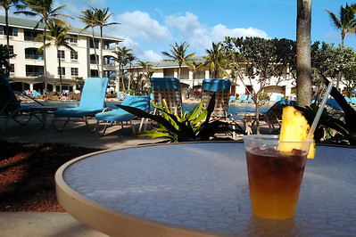 Mai Tai #1, our room is on the corner of the top floor